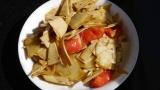 薯片炒豆皮,简单好吃的家常小炒